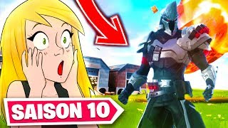 FORTNITE SAISON X (10): Discovery of the COMBAT PASSE and THE NEW !!!!!