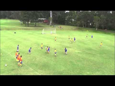 2015년 11월 8일 TYSA U 14 vs Brisbane strikeser U 14