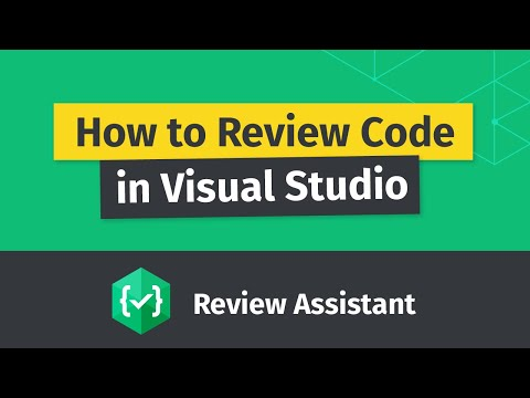 How to make Code Review in Visual Studio using Review Assistant