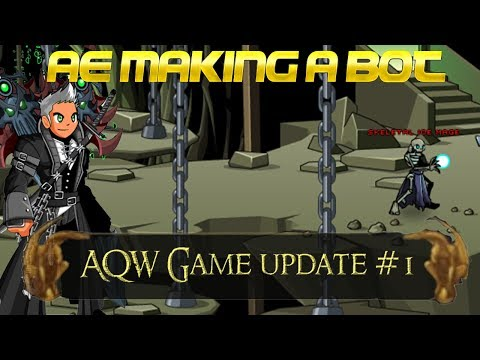 AQW Making a Bot | And AE Game Launcher News! - YouTube