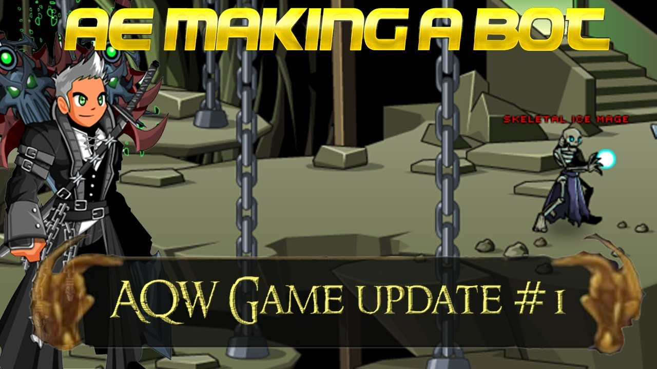 AQW Making a Bot | And AE Game Launcher News!