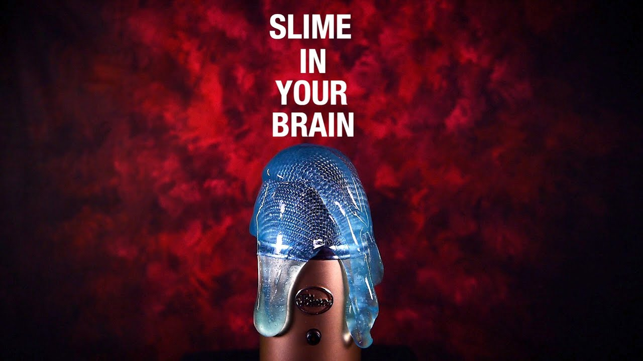 SLIME in Your Brain ASMR🧠(No Talking)