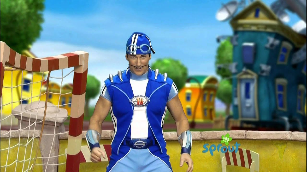 sprouts super sproutlet show sportacus move