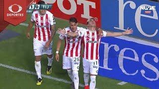 Gol de Brian Fernández | Necaxa 1 - 0 Tijuana | Clausura 2019 - Jornada 8 | Televisa Deportes