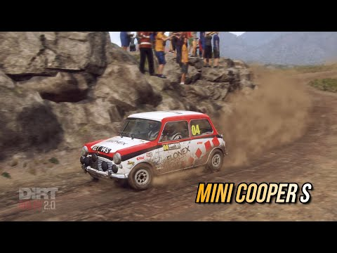 Mini Cooper S - DiRt Rally 2.0 Gameplay Cockpit View Thrustmaster T150 Pro Indonesia |