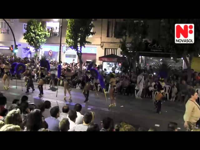 Spring festival in Murcia, Spain