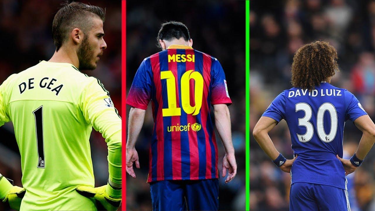 Số áo từ 1 đến 99 của các cầu thủ bóng đá nổi tiếng thế giới   Phần 1 - YouTube