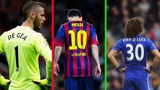 Số áo từ 1 đến 99 của các cầu thủ bóng đá nổi tiếng thế giới | Phần 1