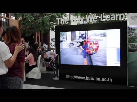 BUIC Interactive Booth @ Central World