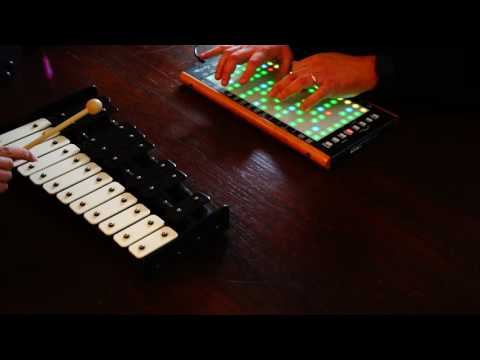 Little Wing intro on Linnstrument and Xylophone (Jimi Hendrix cover)