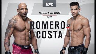 UFC 241: Paulo Costa vs Yoel Romero Recap