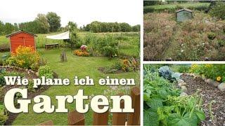 Wie plane und gestalte ich einen Garten