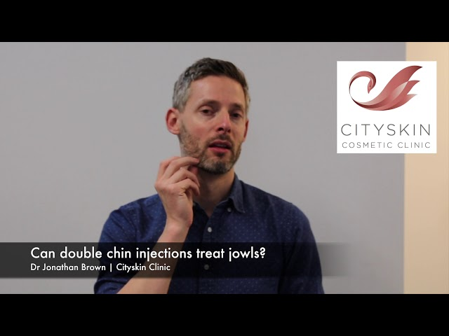 Can double chin injections treat jowls?
