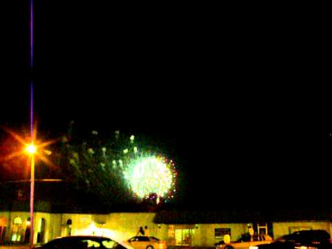 Warner Robins Fireworks show on 7-01-2011