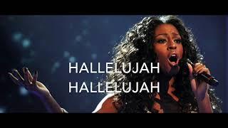 Hallelujah (-6) - Alexandra Burke version - Karaoke male lower