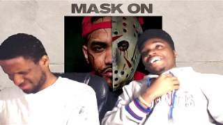 Joyner Lucas reaction to mask off with monty