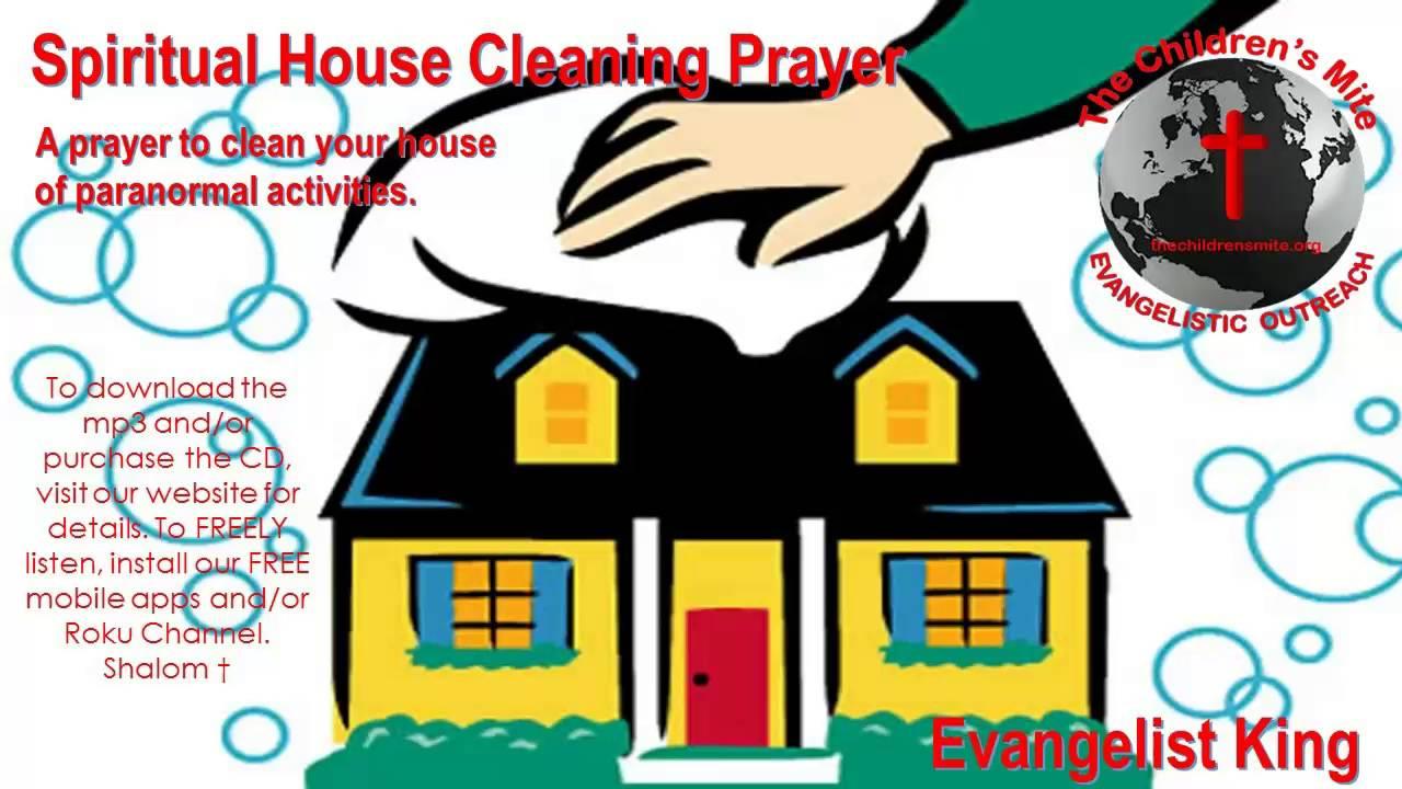 Beautiful Spiritual House Cleaning Prayer