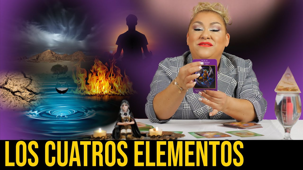 LOS CUATROS ELEMENTOS DE ENERGIA