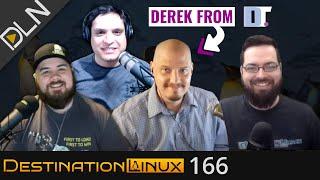 Destination Linux 166: Derek of DistroTube, PopShell, Tiling Window Managers & More!