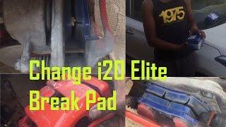 How to Change i20 elite break pad