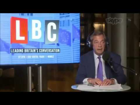 Nigel Farage Discusses EU Negotiations, Gibraltar & Brexit