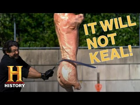 Forged in Fire: 4 EPIC Blades That WOULDN'T KEAL | History