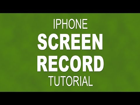 How to screen record on an iPhone - iOS 11