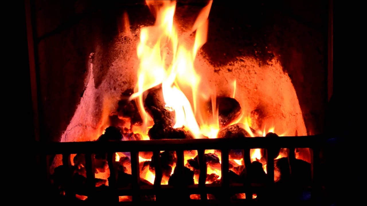 proper real coal fire in a fireplace hd youtube