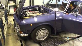 Alfa Romeo GTV2000 Bertone - Dyno Run at Beek Auto Racing