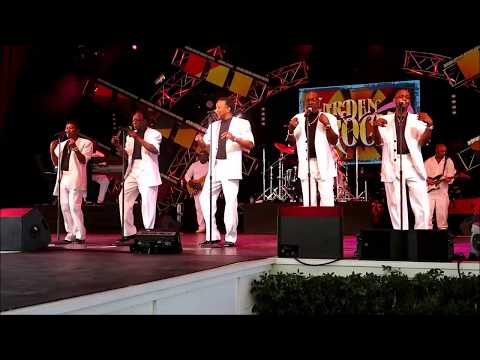 "The Spinners - ""Could It Be I'm Falling In Love"" @Epcot May 28, 2017"