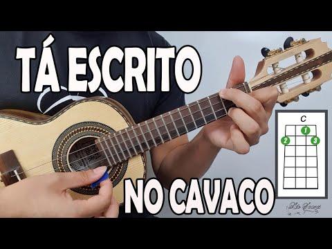 """APRENDA """"TA ESCRITO"""" - GRUPO REVELAÇÃO no CAVAQUINHO - AULA DE CAVAQUINHO - LÉO SOARES"""