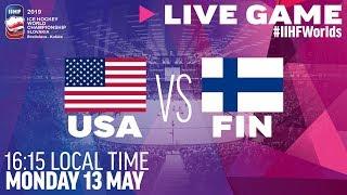 USA vs. Finland | Full Game | 2019 IIHF Ice Hockey World Championship