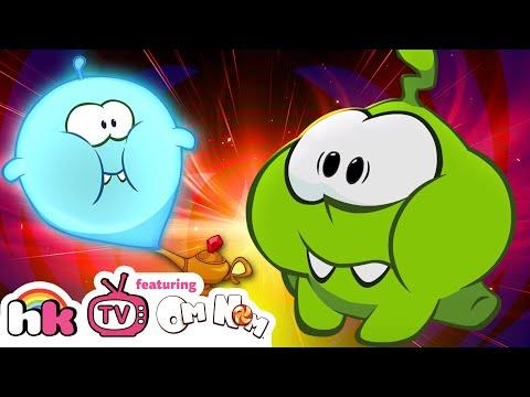 Om Nom Stories: Magic Lamp | Cartoons for Children | Funny Cartoons | HooplaKidz TV