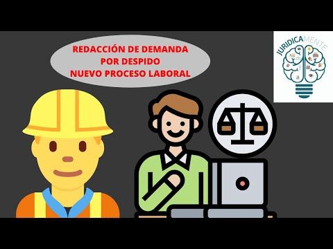 REDACCIÓN DE DEMANDA LABORAL | NUEVO PROCESO LABORALиз YouTube · Длительность: 7 мин