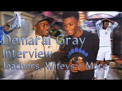 Demarai Gray Interview - TEACHERS, WIFEYS + MORE!