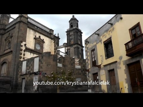 Old Town Tourism Las Palmas Gran Canaria Canary Island Spain City Sightseeing attractions
