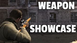 Sniper Elite V2 - All Weapons Showcase [DLCs Included]