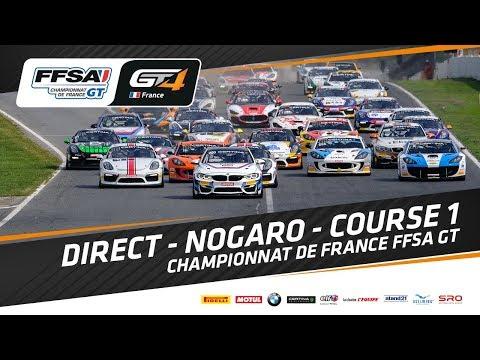 DIRECT – Nogaro Course 1 - Championnat de France FFSA GT