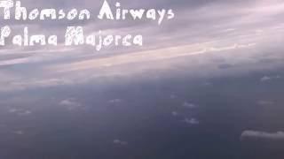 Thomson Airways Landing at Palma, Mallorca