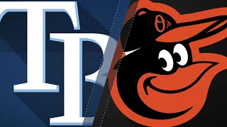 Rickard drives in 5 of O's 17 runs in rout: 5/13/18