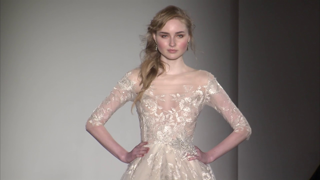 Lazaro Bridal Style 3758 - YouTube