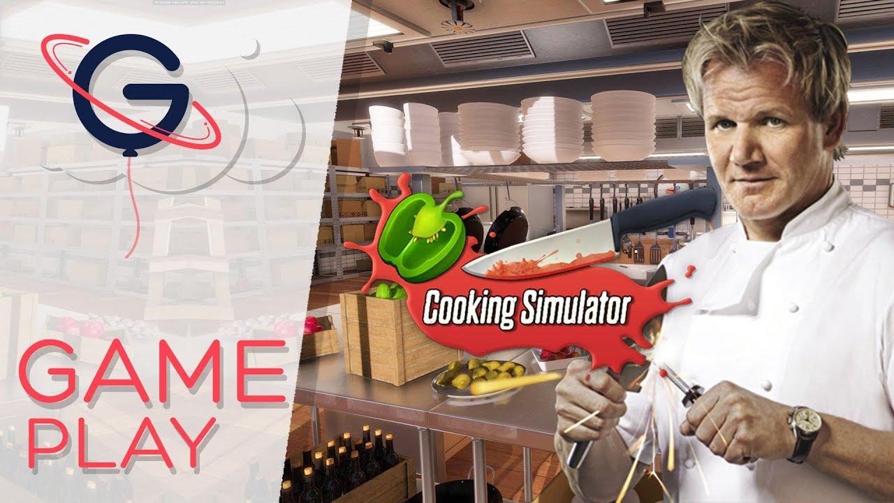 COOKING SIMULATOR : Cauchemar en cuisine !