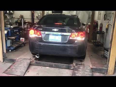 2012 Chevy Cruze LTZ Turbo w/ Straight Pipes!