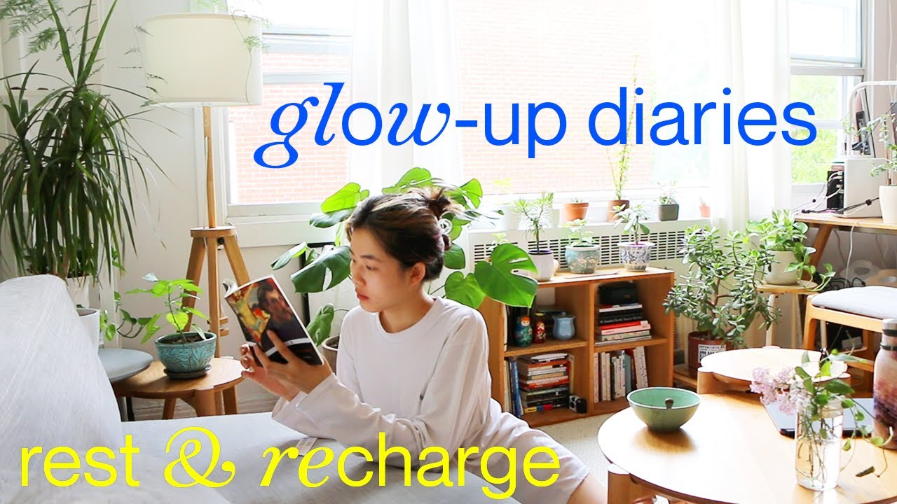4 DAY GLOW-UP✨prioritizing a better self (& apartment hunting update!!)