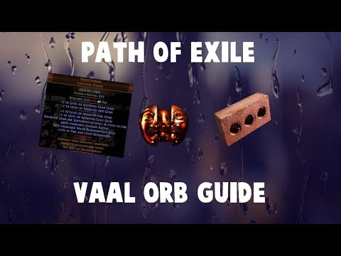 Path Of Exile - Complete Vaal Orb/Corruption Altar Guide!