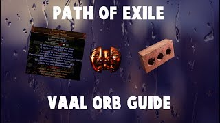 Path of Exile Complete Vaal Orb Corruption Altar guide