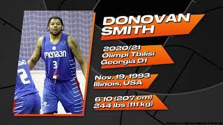 Donovan Smith (#3) 2020/21 Highlights || Olimpi Tbilisi (Georgia D1)