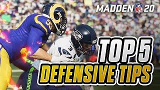 Top 5 Defensive Tricks in Madden 20!