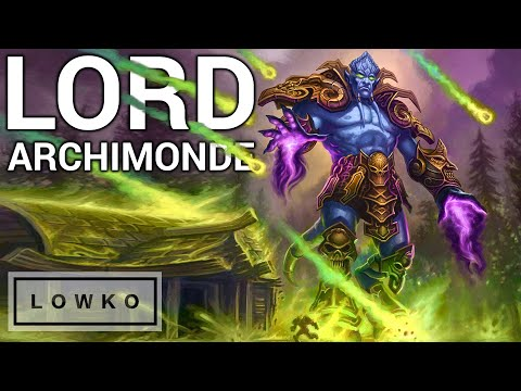 Warcraft 3: Reforged Campaign - THE SUMMONING OF ARCHIMONDE! (Undead Campaign)