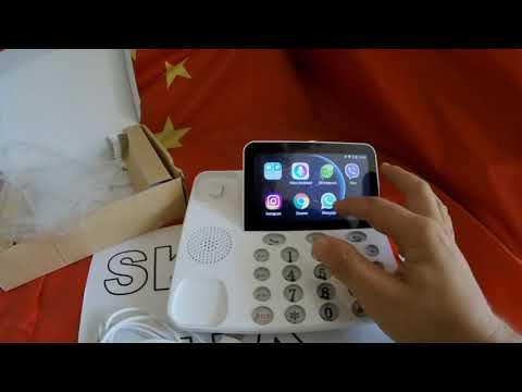 Тайны и особенности стационарного 4G телефона P1 на Андроиде